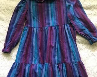 Striped Polly Flinders Dress