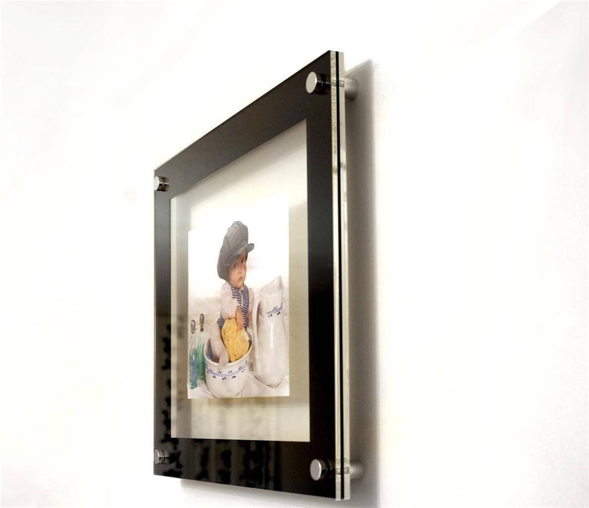 Floating 3d acrylic wall mount 10 x 8 25 x 20 cm 8 x 10 picture gallery photo gallery photo jeuxipadfo Image collections