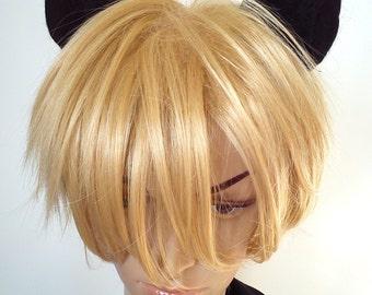 Black Cat Costume Hair Accessories Cat Ear Hair Clips, for fancy dress cosplay anime ears for girl hair boy hair