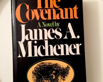 The Covenant James A Michener First Trade Edition 1980