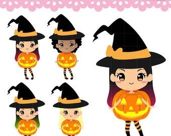 witch clipart etsy rh etsy com