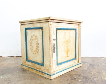 French Hand Painted Cupboard