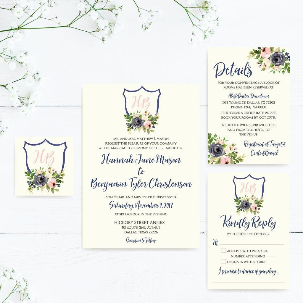 Cheap Online Wedding Invitations Gallery - Invitation Templates Free ...