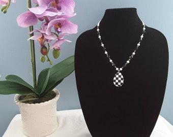 Checkerboard Necklace