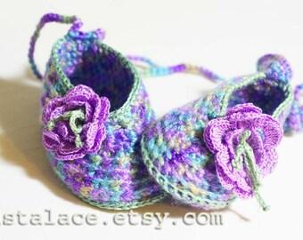 Baby shoe crochet pattern  PDF crochet baby pattern  Flower crochet, Baby booties pattern Crochet Pattern