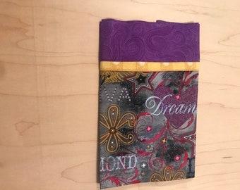 Pillowcase, Travel, Diva, Girl, Purple