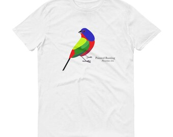 Painted Bunting2 Short sleeve t-shirt