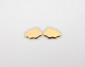 CLOUD Silver earrings