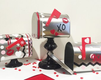 Valentine's Metal Mailbox DIY Kit!!