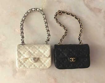 Handmade Miniature Quilted Bag