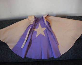 Princess cotton reversible Cape