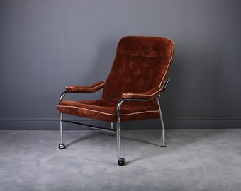 Lounge Chair in Manner of Bruno Mathsson,1970s