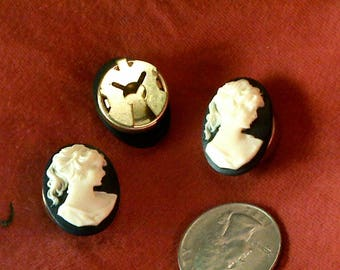 A17 3 matching cameo button covers.