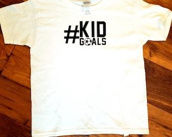 Kid goals #kidgoals soccer shirt