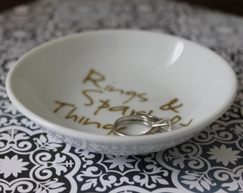 Rings & Sparkly Things Ring Dish
