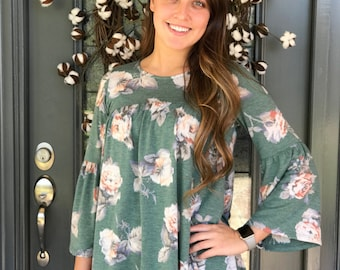 Cassidy Floral Top