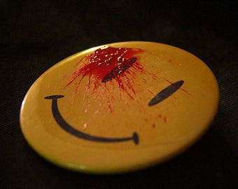 Button Blood Relief of the comedian (Watchmen)