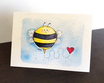 Blank Card: You're My Honey Bee!