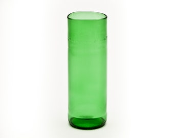Green Bottle Glass Made from Upcycled Glass Bottle by Battat Glass