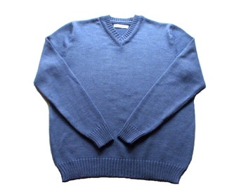 Men's merino wool V-neck sweater/jumper/cardigan/vest/pullover