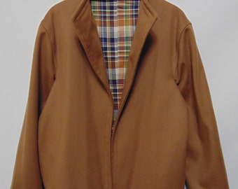 Vintage Dark Tan Coat