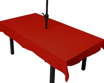 Tablecloth red meeting