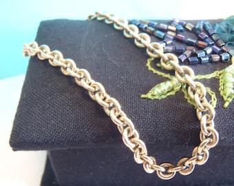 Classic 18K Yellow Gold Round Link Bracelet