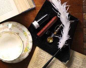 Black Journal ,  Journal Kit , Leather Journal , Journal for Women, Travel Gifts , Travel Accessories , Steampunk Men , Steampunk Journal ,