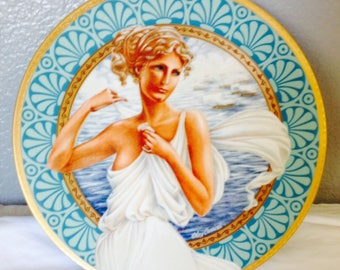 Helen of Troy Collector Plate by Oleg Cassini