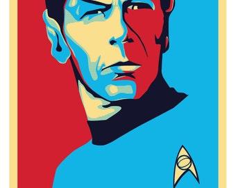 Spock: LLAP (Live Long And Prosper) Print