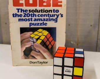 Original Rubik's Cube With Manual Vintage 1981