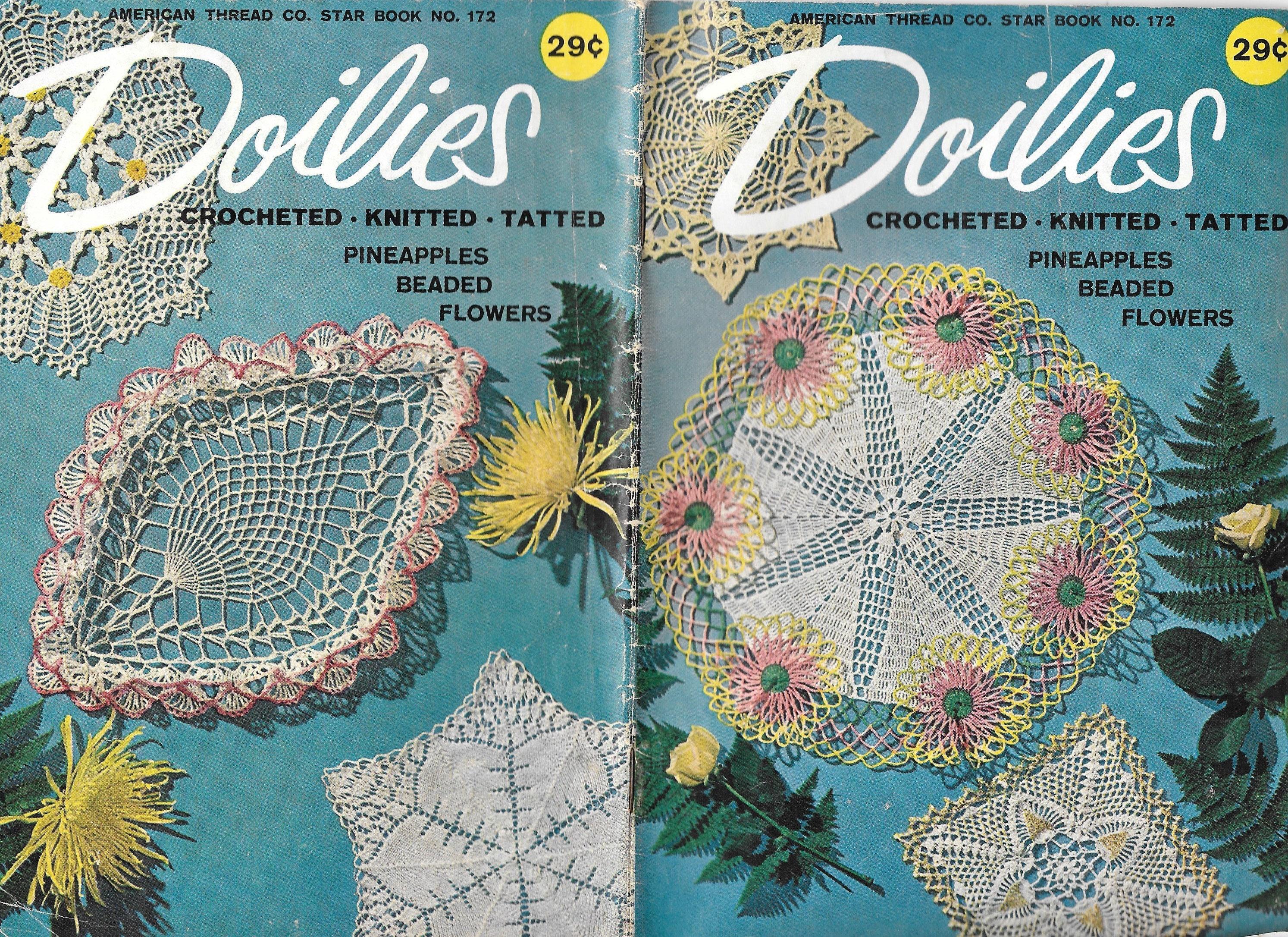 Fancy Knit Doily Pattern Ornament - Blanket Knitting Pattern Ideas ...