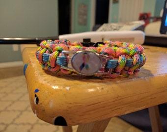 All Cancer Awareness Paracord Bracelet