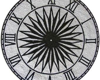 Roman Numerals Mosaic- Tempo