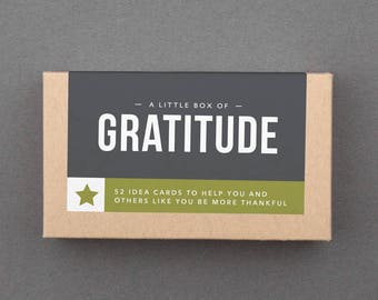 """Gift Basket Stuffer. Small, Affordable, Ready to Ship Gift Under 20. Fun, Grateful, Thankful. Friend, Woman, Family. """"Gratitude"""" (L5GRA)"""