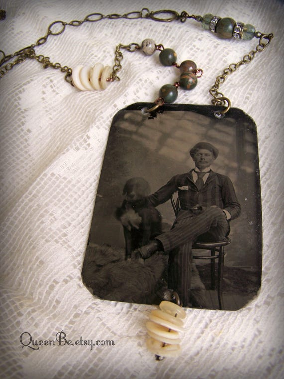 silver memorial sterling photograph personalized pet necklace photo