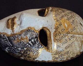 Venetian Ceramic Handmade Mask,Wall Decoration