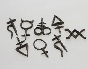Alchemical Symbols Arcane Talisman
