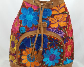 Swallow: Medium Embroidered Backpack