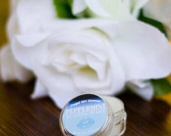 All Natural Peppermint Lip Balm