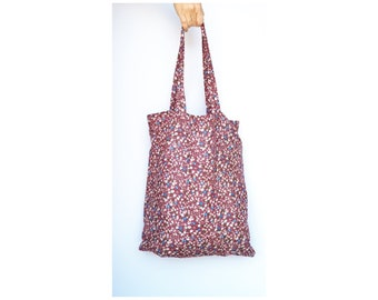 Handmade Cotton Tote bag. Daily handmade cotton bag.