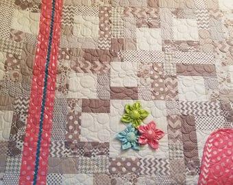 Handmade Baby Girl's Quilt