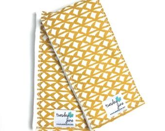 Modern Burp Cloths - Yellow - Burp Cloths - Mustard Yellow