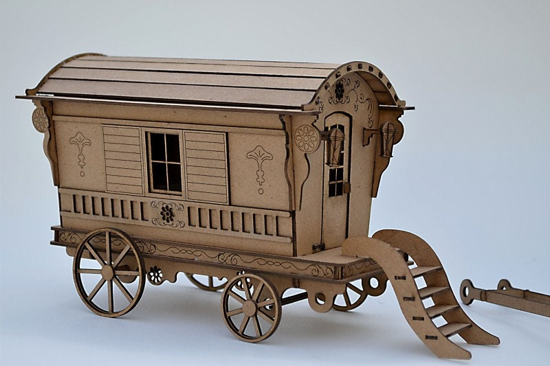 caravan kit build your own gypsy wagon miniature