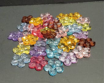 Acrylic Multicolored Jewelry Pieces