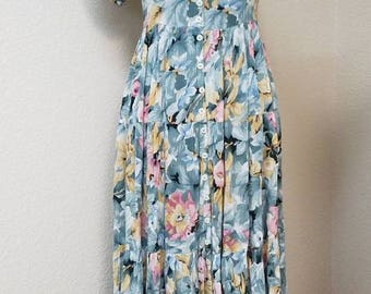 90s long baby doll dress