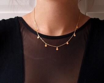 Necklace Tiny Dots