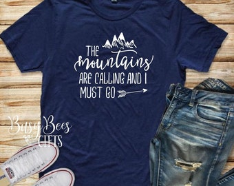 The Mountains Are Calling And I Must Go.   Mountains Calling.  Mountain Adventure.  Mountain Life.  Hiking.  Camping.
