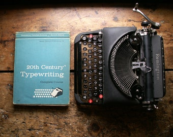 Vintage Typewriting Instructional Book - 20th Century Typewriting - Published in 1957
