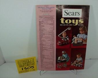 1960's Sears Toy Catalog